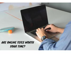 Can I do TEFL CELTA online